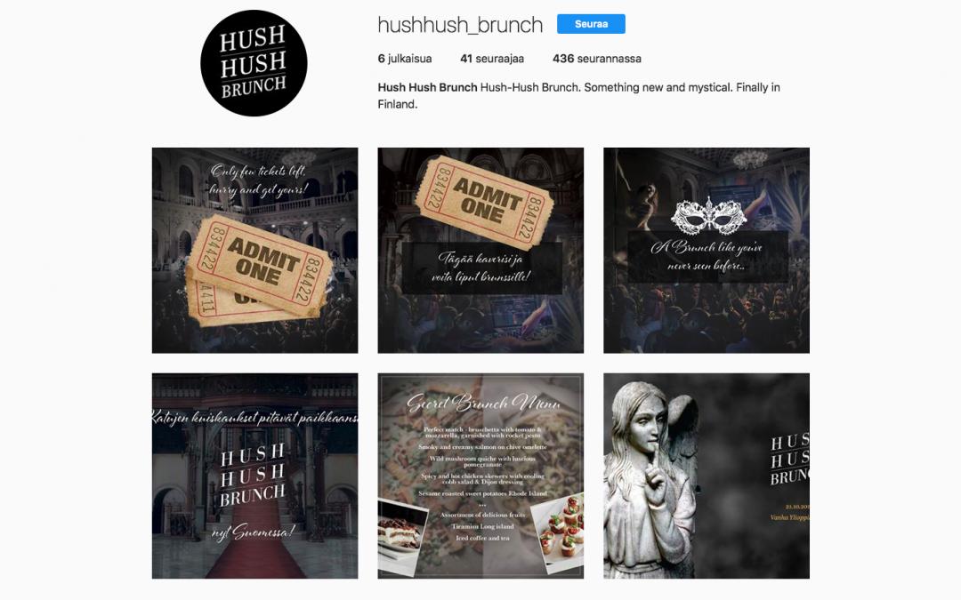 Sosiaalinen media, Hush Hush Brunch