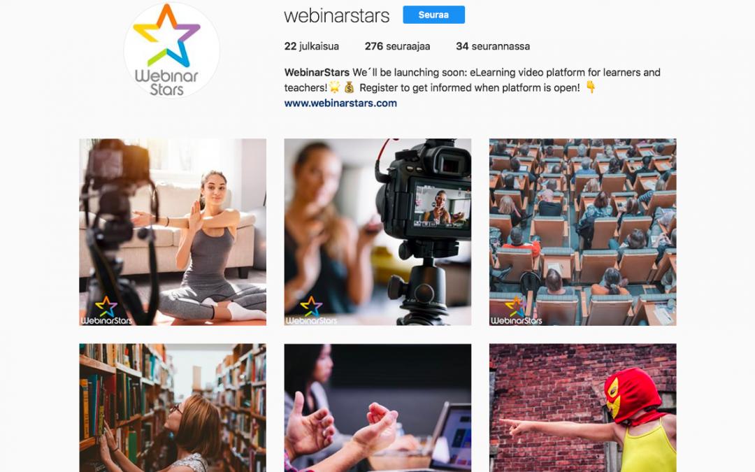 Markkinointiviestintä, WebinarStars
